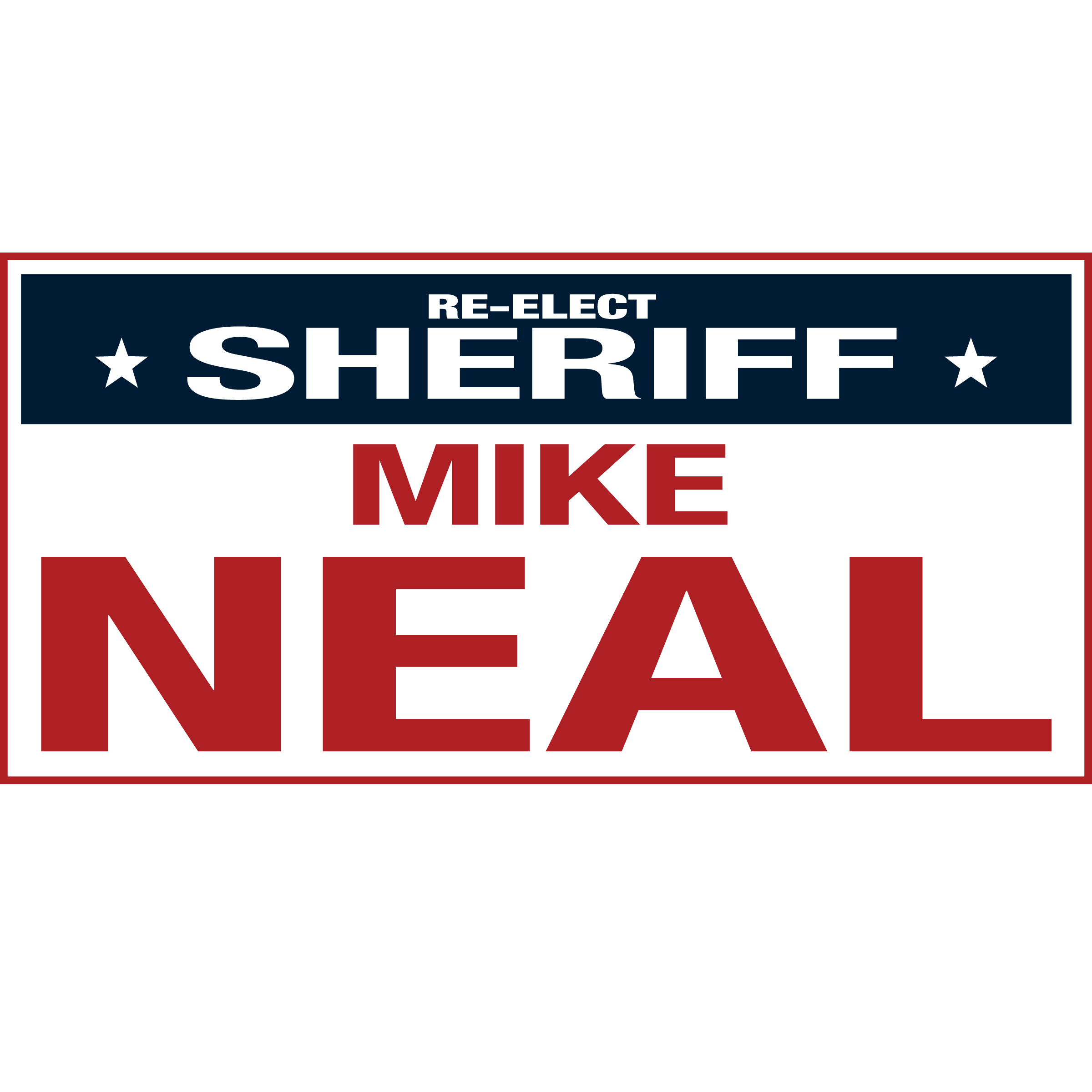 Mike Neal for Sheriff 2018 - Rhea County, Tennessee